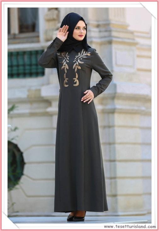 5c0fb36485e6e Puane Tesettürlü Abiye Elbise Modelleri 2018 (14) - Tesettür Diyarı