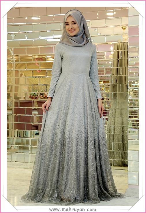 39578dcd0e011 En Güzel Tesettürlü Nişan Elbisesi Modelleri (5) - Tesettür Diyarı