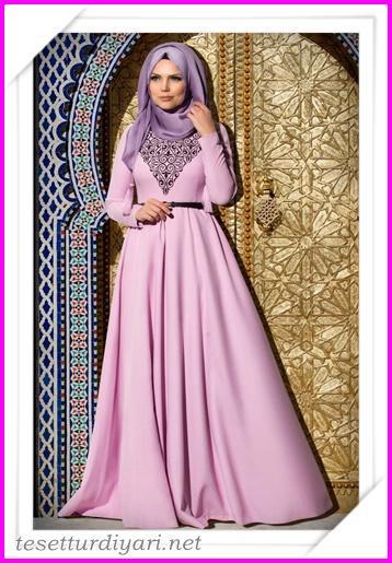 027f7f726c0f5 2016 Tesettür Giyim Abiye Elbise Modelleri 10 - Tesettür Diyarı