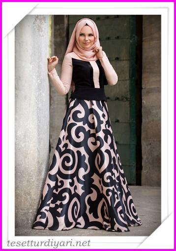bdcdb8f1377bb 2016 Tesettür Giyim Abiye Elbise Modelleri 9 - Tesettür Diyarı