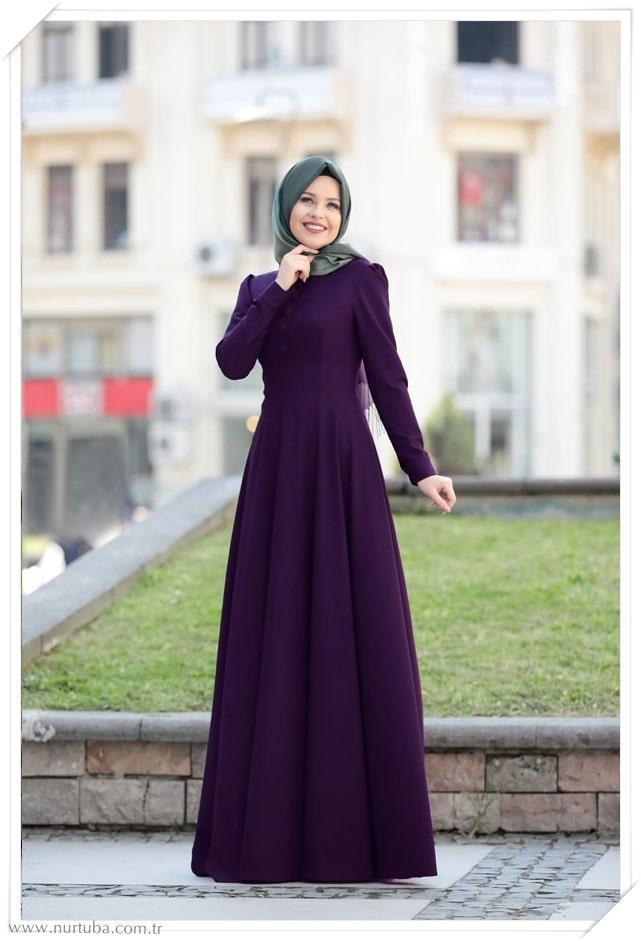 8311af9b029e0 Tesettür Giyim Mezuniyet Elbiseleri 2019 Yeni Sezon (6) - Tesettür ...