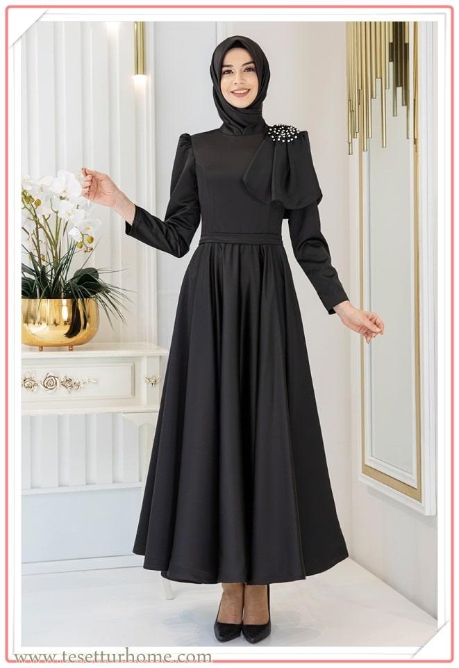 2021 tesettür nişan kıyafetleri