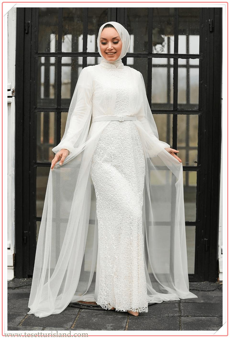 tesettür nikah elbisesi 2021,nikah elbisesi tesettür 2021,beyaz nikah elbisesi tesettür 2021,beyaz tesettür nikah elbisesi 2021